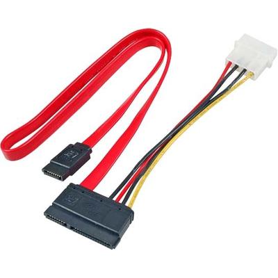 EFB Elektronik K5349.050 ATA kabel - Zwart, Rood, Wit, Geel