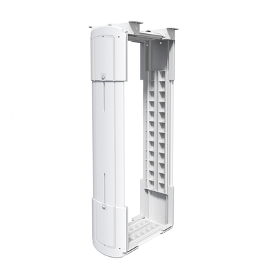 Dataflex CPU Holder Large Montagekit - Wit