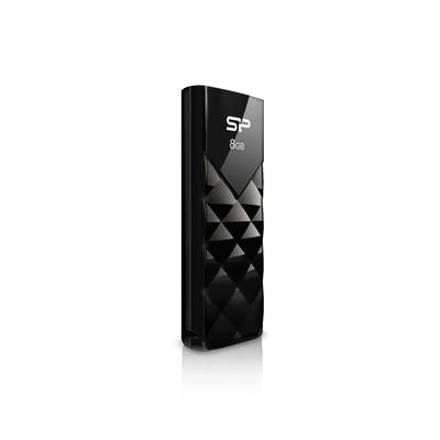 Silicon Power Ultima U03 8GB USB flash drive - Zwart