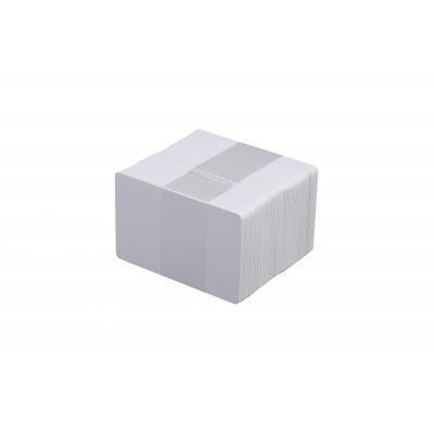 Evolis lege plastic kaart: C4002, white, PVC, Classic, 0.5 mm / 0.2 mil, 5 x100 packs - Wit