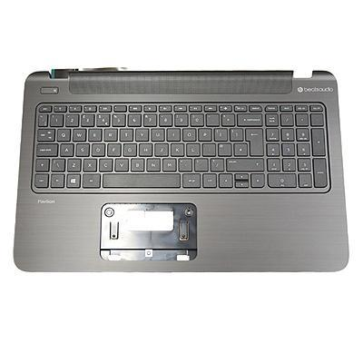 Hp notebook reserve-onderdeel: Top cover (includes keyboard and cable): With full size textured island-style Keyboard .....