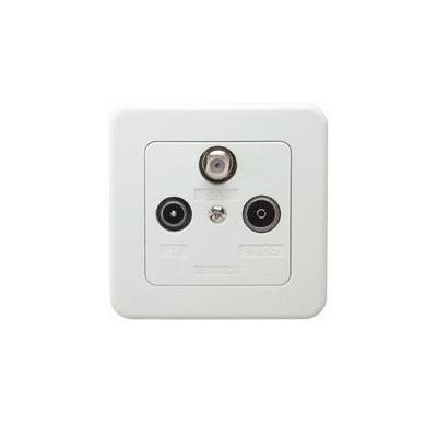 Schwaiger DSE650531 wandcontactdoos