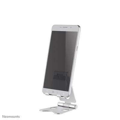 Neomounts by Newstar opvouwbare telefoon stand Houder - Zilver