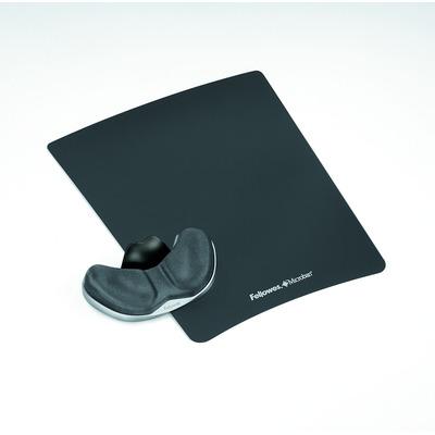 Fellowes Health-V, Microban, 228 x 279 x 19mm Muismat - Grafiet