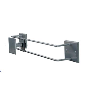 R-Go Tools R-Go Steel Alternative Muurbeugel, verstelbaar, zilver Projector plafond&muur steun