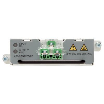 Cisco switchcompnent: ASR 900 1200W DC Power Supply, Spare - Grijs