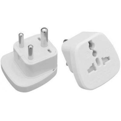 Microconnect Universal adapter UK to India Elektrische stekker - Wit