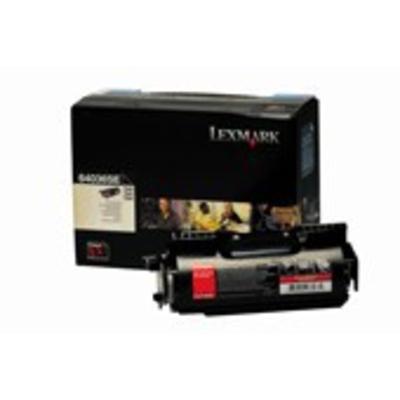 Lexmark T64x Cartridge Toner - Zwart
