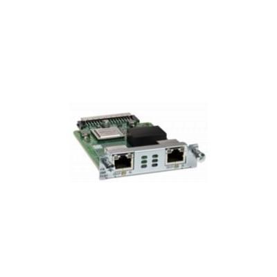 Cisco netwerkkaart: VWIC3-2MFT-G703 - 1.544 Mbps ± 50 bps/32 ppm/2.048 Mbps ± 100 bps/50 ppm, T1, E1, VIC, 2x G.703, .....