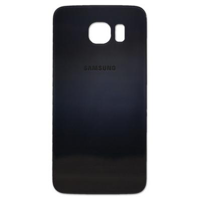Samsung Battery Cover, Black mobile phone spare part - Zwart