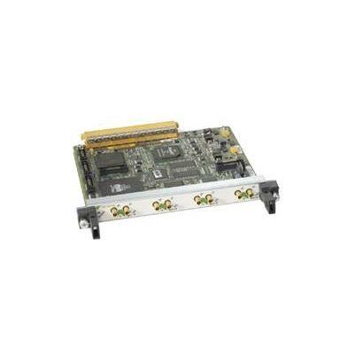 Cisco netwerk interface processor: 4-Port Clear Channel T3/E3 Shared Port Adapter, Refurbished