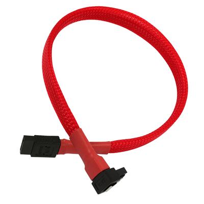 Nanoxia SATA 6GB/s, 0.3 m ATA kabel - Rood