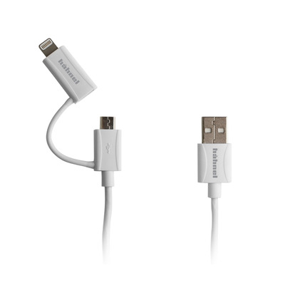 Hahnel 1000 652.0 USB kabel - Wit