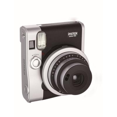 Fujifilm instax mini 90 NEO CLASSIC Direct klaar camera - Zwart, Roestvrijstaal