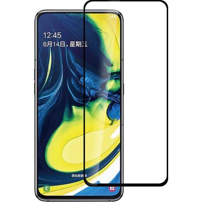 ESTUFF Samsung Galaxy A80 Screen protector - Zwart,Transparant