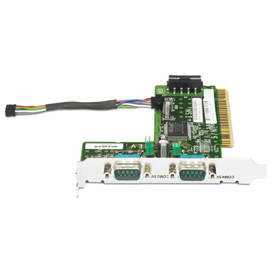 Hp interfaceadapter: 2-Port Powered Serial Card (Refurbished ZG)
