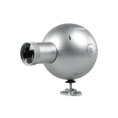 Balance mantel/tafel klok: Projection clock, 395g, Silver - Zilver