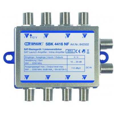 Spaun SBK 4416 NF Signaalversterker TV - Grijs