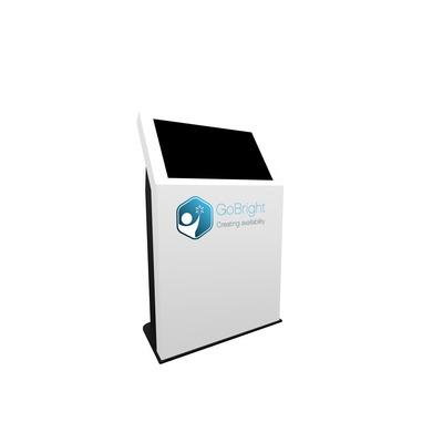 Dekker Industrial Design D.I.D 32 inch Kiosk vloerstandaard (Landscape) - White TV standaard - .....