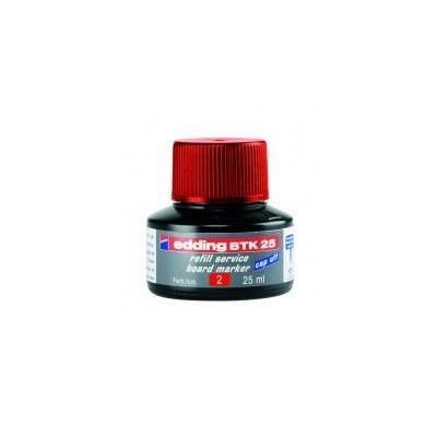 Edding inkt: BTK 25 - Zwart, Rood