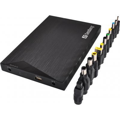 Sandberg powerbank: Powerbank 20000 for Laptop - Zwart