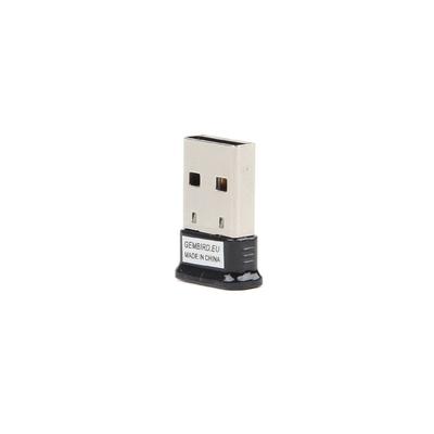 Gembird Mini Bluetooth v4.0 USB adapter Netwerkkaart - Zwart,Zilver