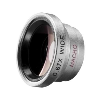 Walimex : Macro and Wide Angle Lens for iPhone - Zilver