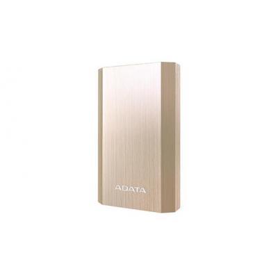 Adata powerbank: A10050 - Goud