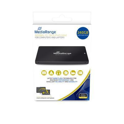 MediaRange SATA 6 Gb/s, 240GB, 500 MB/s, 450 MB/s
