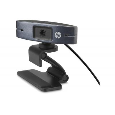 Hp webcam: HD2300 - Zwart
