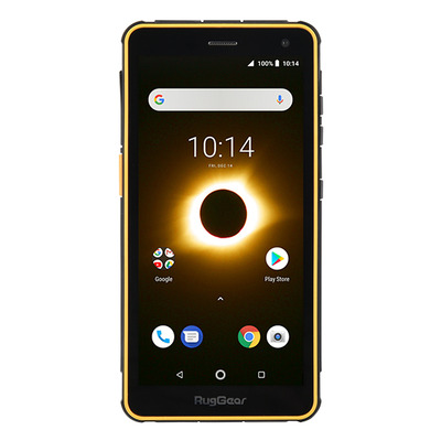 RugGear RG650 Smartphone - Zwart,Geel 16GB