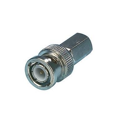 Valueline BNC Male, Metal, Silver Kabel connector - Zilver