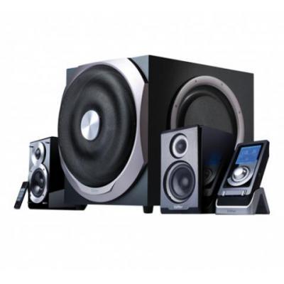 Edifier Speaker: S730 - 2.1 speaker system with a 10 inch subwoofer - Zwart