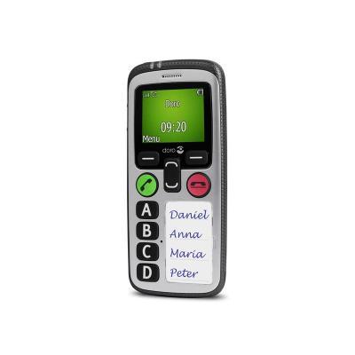 Doro mobiele telefoon: Secure 580IUP - Zilver
