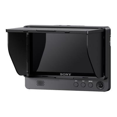 "Sony camera toebehoren: 12.7 cm (5 "") FHD TFT, 1920 x 1080 16:9, RMS 0.5 W, 5.5 W, 3.5 mm, HDMI, 139 x 100 x 23.1 mm, ....."