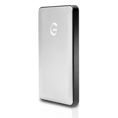G-technology externe harde schijf: G-DRIVE mobile USB-C - Zilver