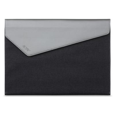Acer tablet case: Protective Sleeve Silver & Grey - Grijs, Zilver