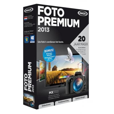Magix grafische software: Magix, Foto Premium 2013 (Fotos op DVD 2013 Deluxe + Graphic Designer 8)