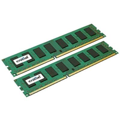 Crucial CT2K204864BD160B RAM-geheugen - Zwart, Groen