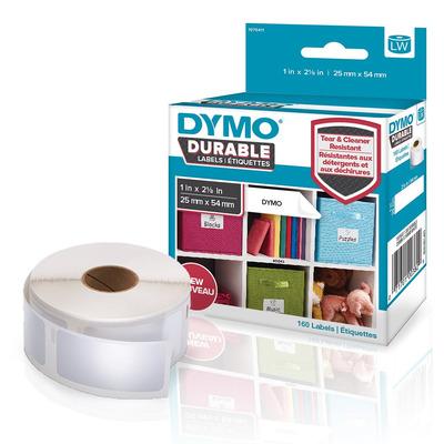 DYMO LW - LW Durable Labels - 25 x 54 mm - 1976411 Etiket - Wit