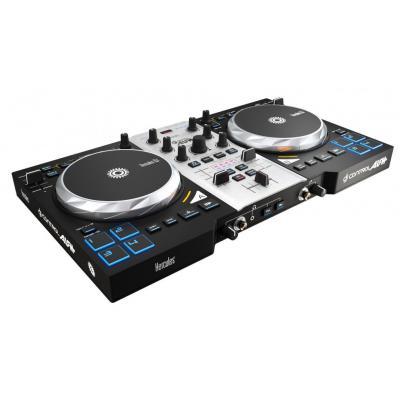 Hercules DJ controller: DJ Control Air+S Series - Zwart, Zilver