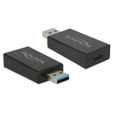 DeLOCK 65689 Kabel adapter - Zwart