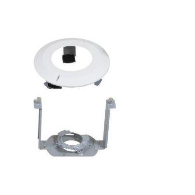 Ernitec In-Ceiling Mount, 800g, Metallic/White Beveiligingscamera bevestiging & behuizing - Metallic, Wit