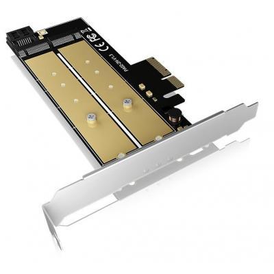 Icy box interfaceadapter: IB-PCI212 - Zwart