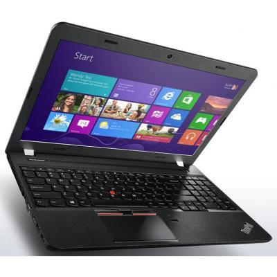 Lenovo laptop: ThinkPad E550 met 500GB HDD - Intel Core i3 processor en 4GB SDRAM - Zwart