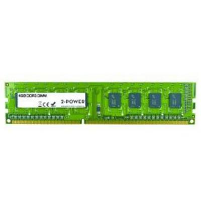 2-power RAM-geheugen: 4GB DDR3L 1.35V DIMM - Groen