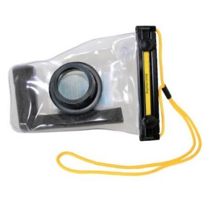 Ewa-marine camera accessoire: 10m Waterproof, 165x33x87mm, Transparent/Black - Zwart, Transparant