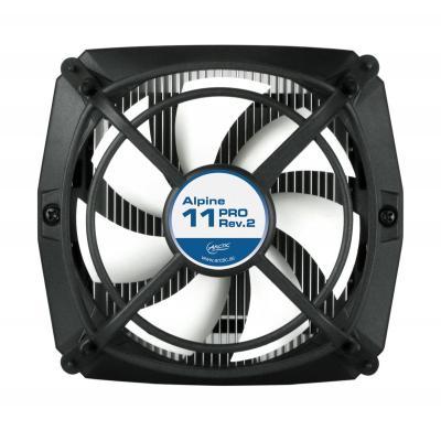 Arctic Hardware koeling: Alpine 11 PRO Rev.2 - Zwart, Wit