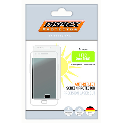Displex Protector HTC One (M8) Anti-Reflect Screen protector - Transparant
