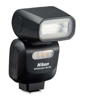 Nikon camera flitser: SB-500 - Zwart